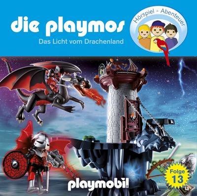 Die Playmos - Folge 13: Das Licht aus dem Drachenland. Hörspiel.