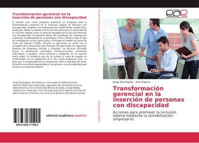 Transformación gerencial en la inserción de personas con discapacidad