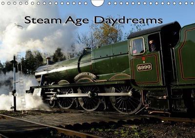 Steam Age Daydreams (Wall Calendar 2019 DIN A4 Landscape)