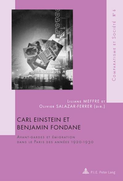 Carl Einstein et Benjamin Fondane