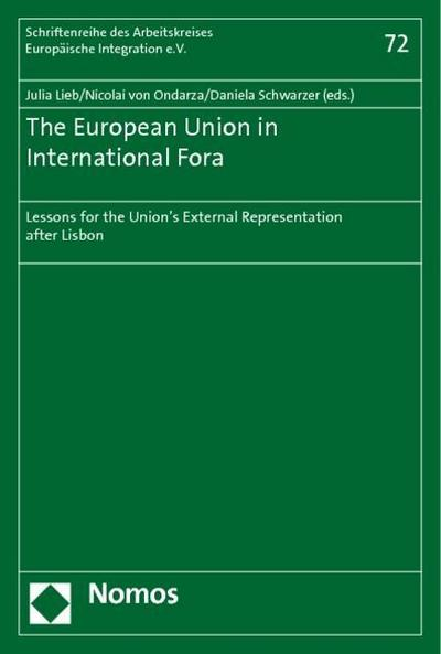 The European Union in International Fora