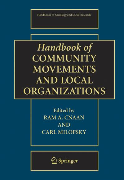 Handbook of Community Movements and Local Organizations