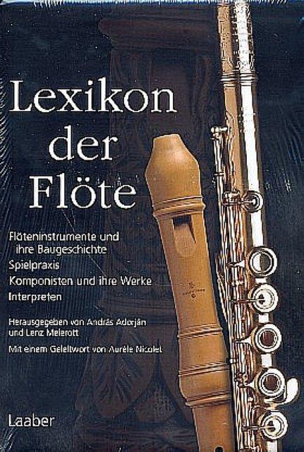 András Adorján / Lexikon der Flöte 9783890075457