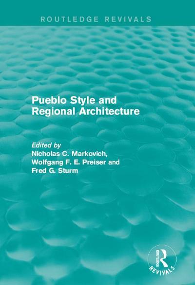 Pueblo Style and Regional Architecture