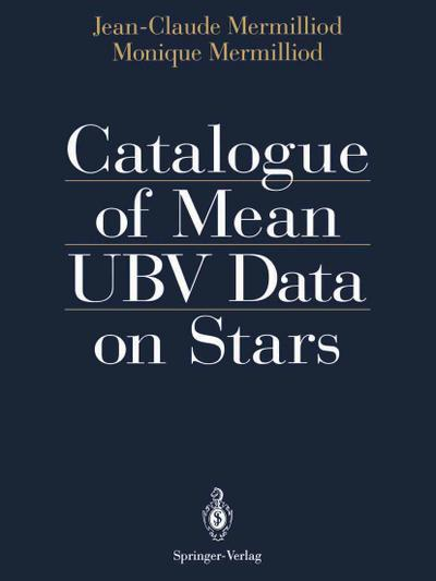 Catalogue of Mean UBV Data on Stars