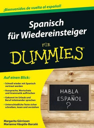 Spanisch für Wiedereinsteiger für Dummies
