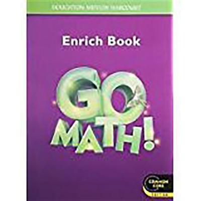 Go Math! Vivan Las Matemáticas: Student Enrich Workbook Grade 3