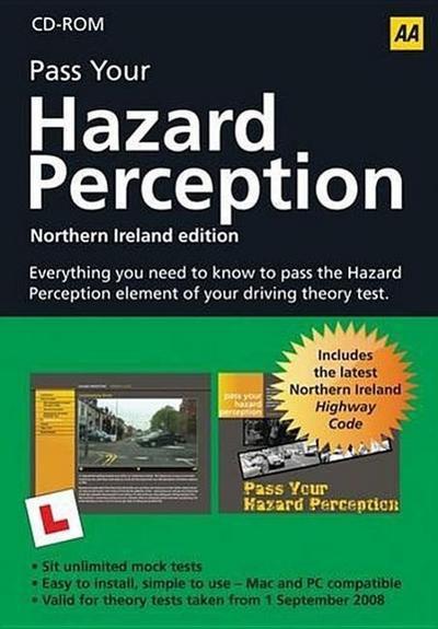 Hazard Perception CD ROM Northern Ireland