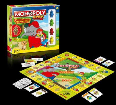 Monopoly Junior Benjamin Blümchen Collector's Edition