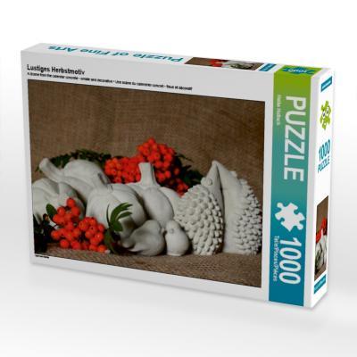 Lustiges Herbstmotiv (Puzzle)