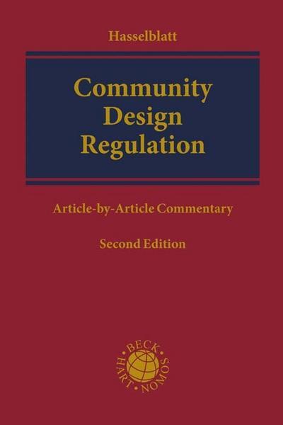 Community Design Regulation: (EC) No 6/2002