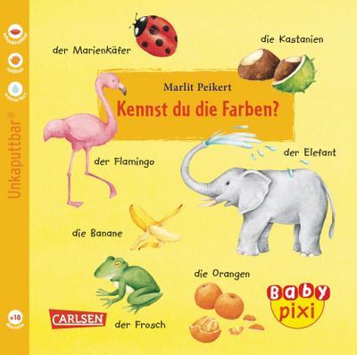 Baby Pixi 05: VE 5 Kennst du die Farben. (5 Exemplare)