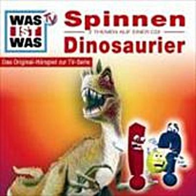 Was ist Was 08. Spinnen / Dinosaurier