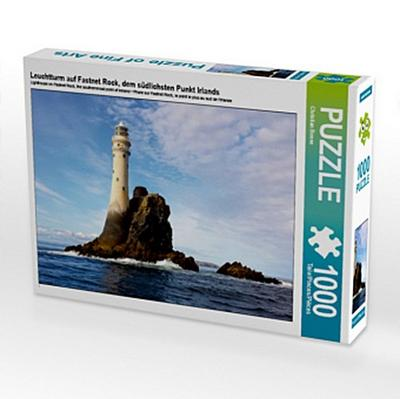 Leuchtturm auf Fastnet Rock, dem südlichsten Punkt Irlands (Puzzle)