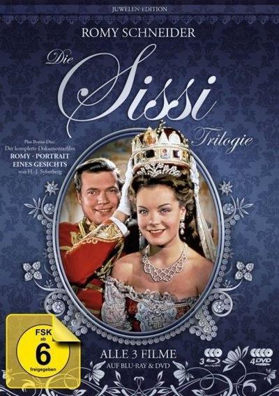 Sissi Trilogie - Juwelen-Edition (inkl. 3 DVDs + Bonus)