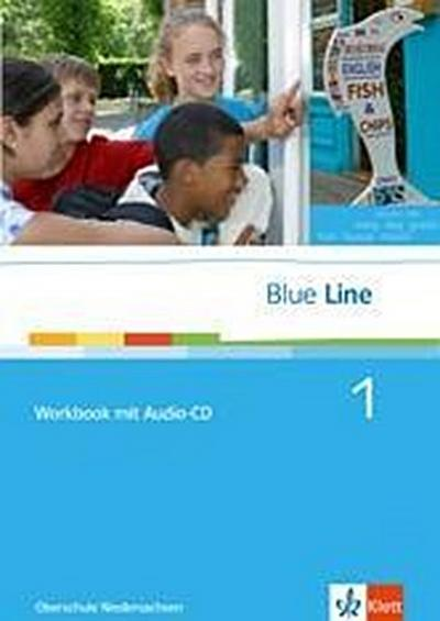 Blue Line / Workbook mit Audio-CD: Ausgabe für Niedersachsen