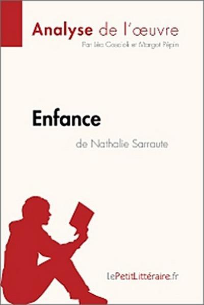 Enfance de Nathalie Sarraute (Analyse de l'oeuvre)