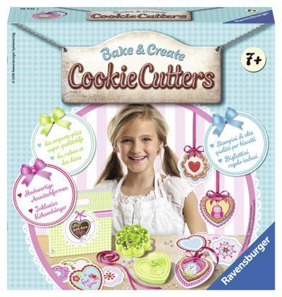 Cookie Cutters; Deutsch; Achtung. Für Kinder unter 36 Monaten nicht geeignet. Erstickungsgefahr wegen verschluckbarer Kleinteile. Lange Schnur. Strangulationsgefahr.