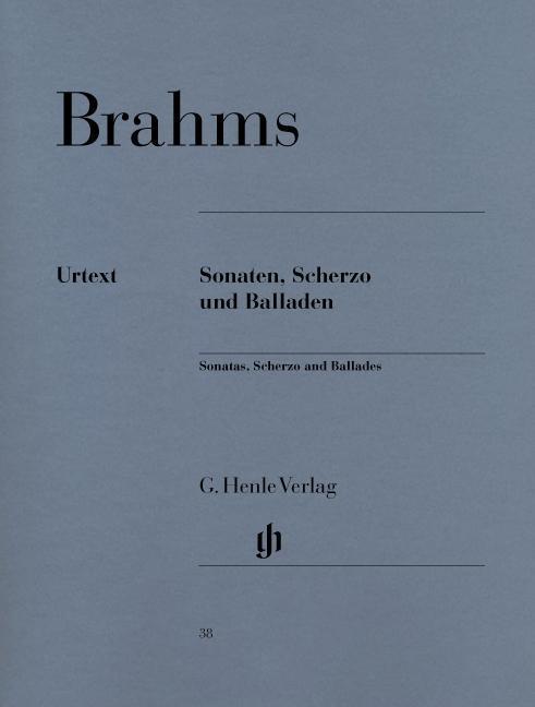 Sonaten, Scherzo und Balladen   Johannes Brahms    9790201800387