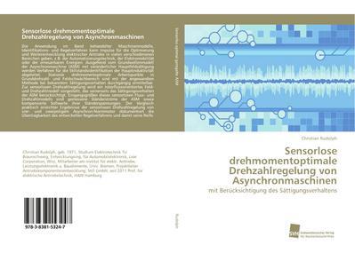 Sensorlose drehmomentoptimale Drehzahlregelung von Asynchronmaschinen