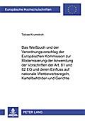 Das Weißbuch und der Verordnungsvorschlag der ...