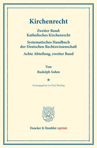 Kirchenrecht.