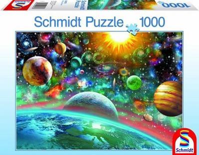 SSP Puzzle Weltall | 58176/1000 Teile - Schmidt-Spiele - Spielzeug, Deutsch, , ,