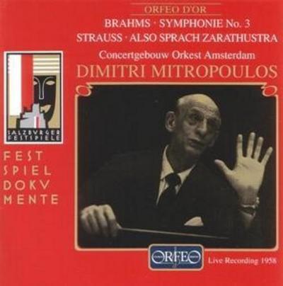 Sinfonie 3 Op.90/Also Sprach Zarathustra Op.30