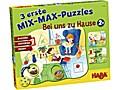 3 erste Mix-Max-Puzzles - Bei uns zu Hause