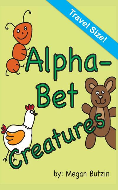 Alphabet Creatures Travel Size