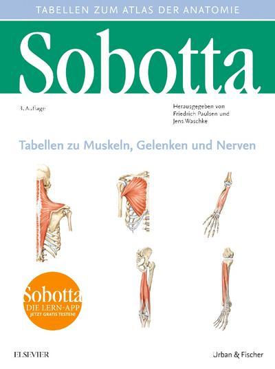 Sobotta Tabellen zu Muskeln, Gelenken und Nerven