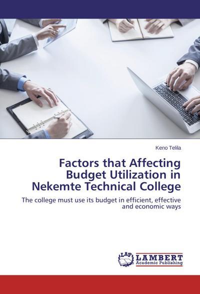 Factors that Affecting Budget Utilization in Nekemte Technical College