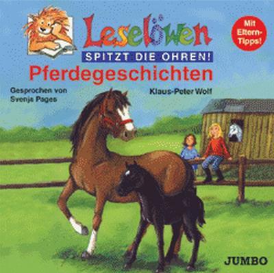 Leselöwen spitzt die Ohren. Pferdegeschichten. Cassette. . Mit Eltern-Tipps