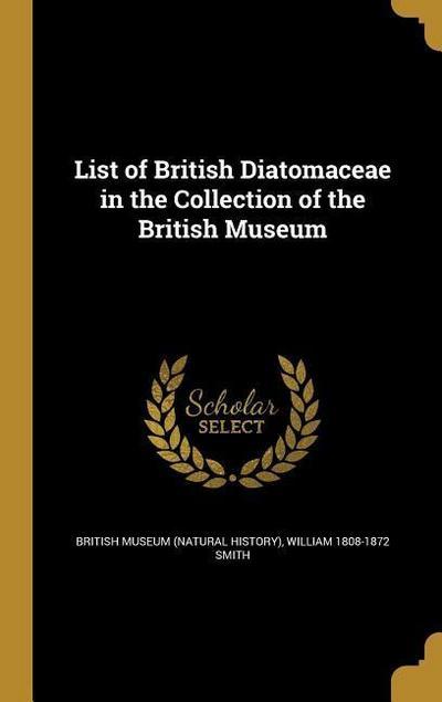LIST OF BRITISH DIATOMACEAE IN