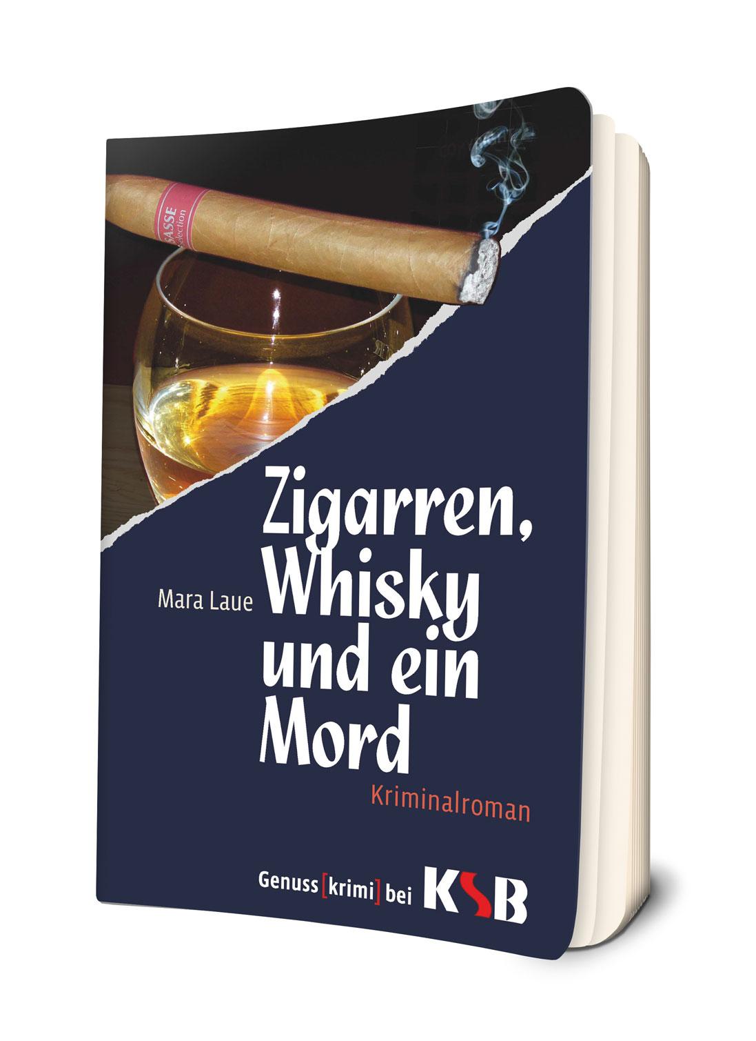Zigarren, Whisky und ein Mord Mara Laue 9783945195710