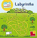 Kleiner Rätselspaß. Labyrinthe; Rätsel, Spaß, Spiele; Ill. v. Schmidt, Sandra; Deutsch; schw.-w.