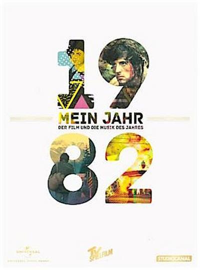 Mein Jahr 1982 / Rambo - First Blood + Die Musik des Jahres, 1 DVD + 1 Audio-CD