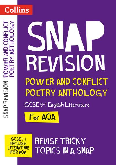 Power & Conflict Poetry Anthology: New GCSE Grade 9-1 AQA English Literature