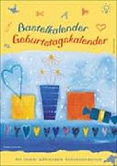 Geburtstagskalender: Bastelkalender mit Notizkalendarium