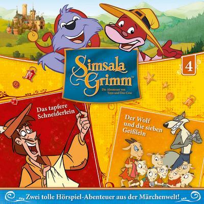 SimsalaGrimm 04: Das tapfere Schneiderlein / Der Wolf und die sieben Geißlein