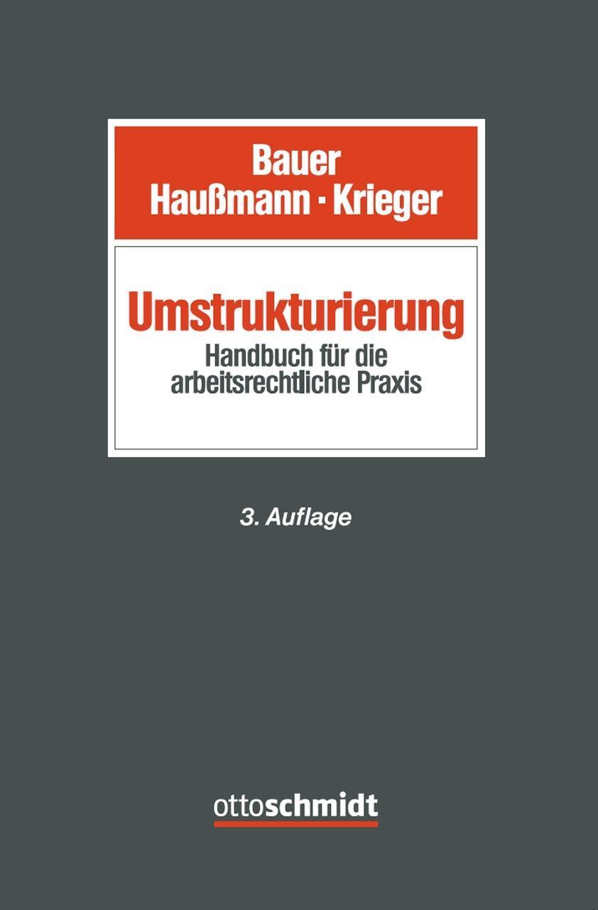 Umstrukturierung ~ Jobst-Hubertus Bauer ~  9783504426880
