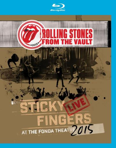 From the Vault: Sticky Fingers Live at the Fonda Theatre 2015 [Blu-ray] - Universal, Music, DVD - Blu-ray, Deutsch, The Rolling Stones, ,