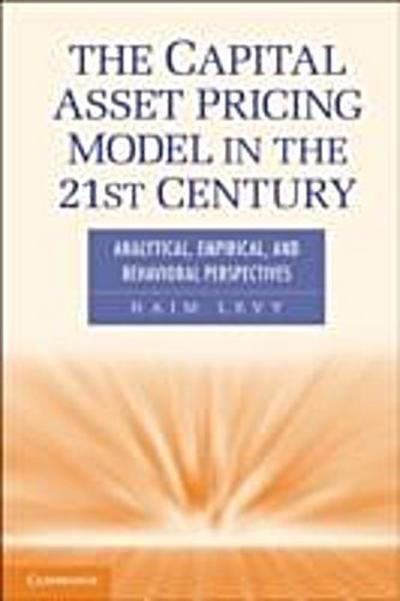 Capital Asset Pricing Model in the 21st Century