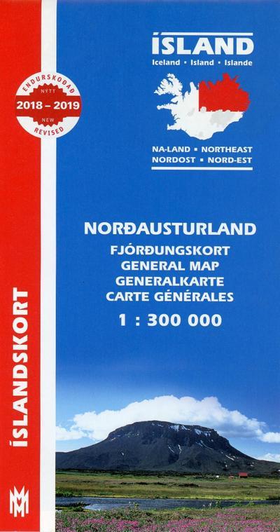 Island Nordost 1 : 300 000
