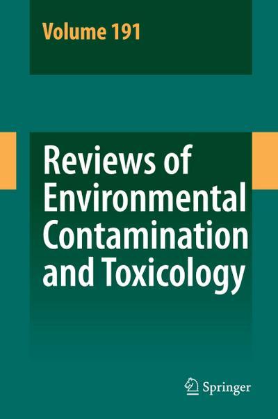 Reviews of Environmental Contamination and Toxicology 191