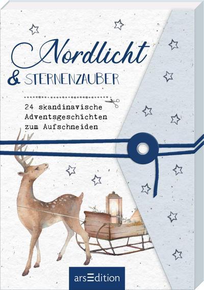 Nordlicht und Sternenzauber. 24 skandinavische Adventsgeschichten zum Aufschneiden
