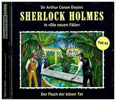 Sherlock Holmes - Neue Fälle 42. Der Fluch der bösen Tat