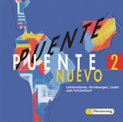 Puente Nuevo Lektionstexte, Hörübungen, Lieder, 1 Audio-CD