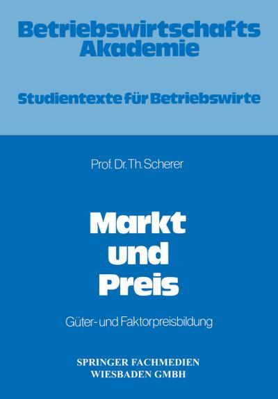 Markt und Preis