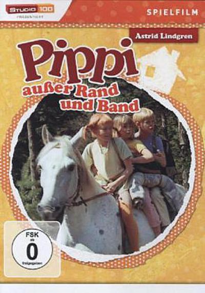 Pippi außer Rand und Band, 1 DVD